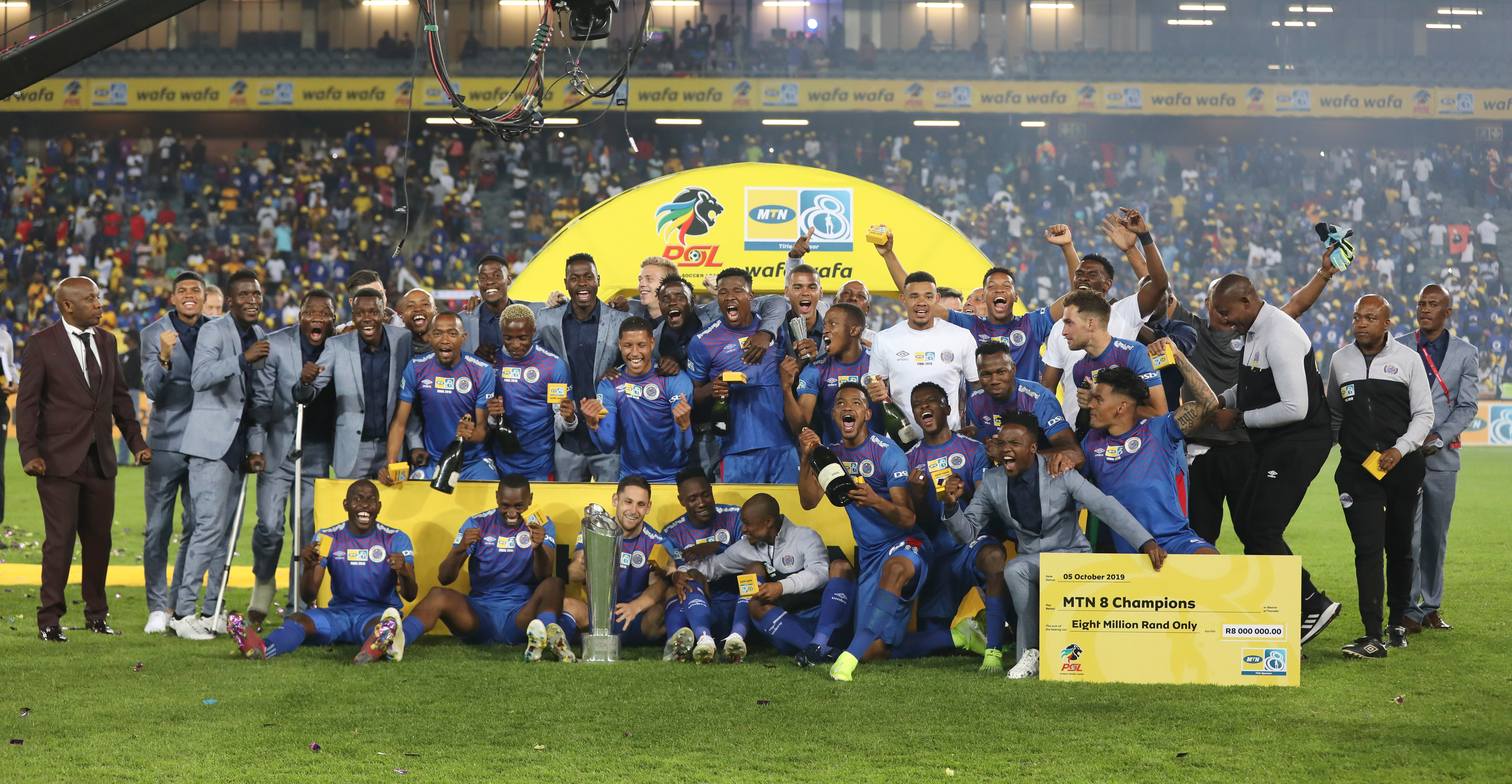 MTN8 2019 Final - Highlands Park v SuperSport United, Orlando Stadium
